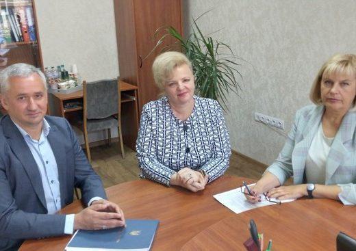 Т.в.о. Голови Держпраці Віталій Сажієнко з робочим візитом перебуває на Черкащині